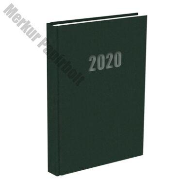 Határidőnapló A/5 napi zöld 2020.