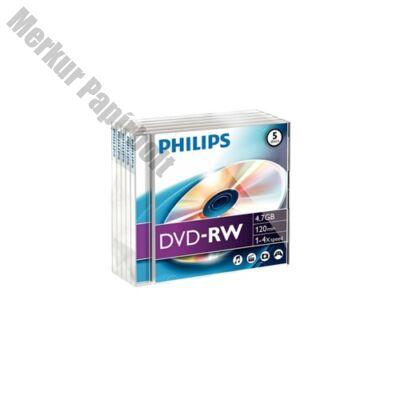 ÍRHATÓ DVD-R PHILIPS 4,7GB 16X SLIM TOK