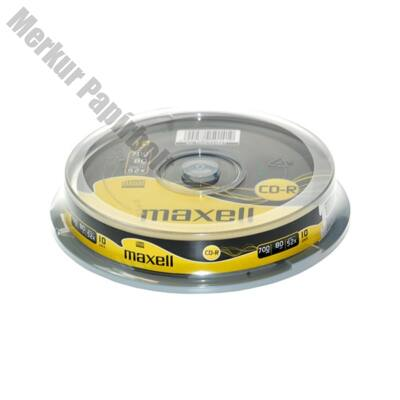Írható CD MAXELL 700MB 10 db/henger