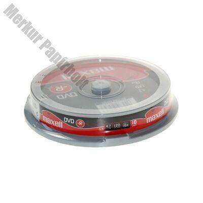 Írható DVD-R MAXELL 4,7GB 10 db/henger