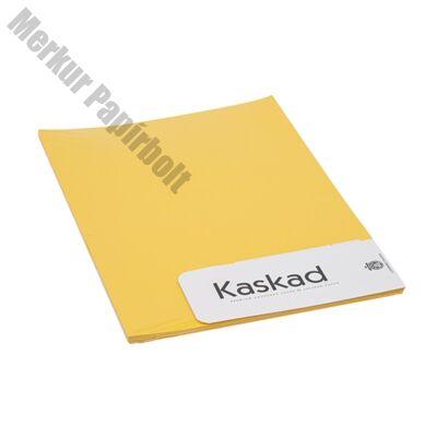 Névjegykártya karton KASKAD A/4 2 oldalas 225 gr repcesárga 56 20 ív/csomag