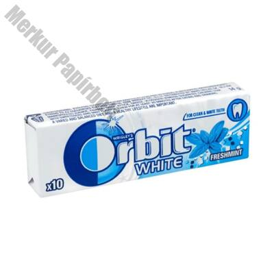 Rágógumi ORBIT White Freshmint 14g