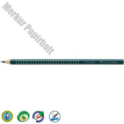 Színes ceruza FABER-CASTELL Grip 2001 háromszögletű erős zöld